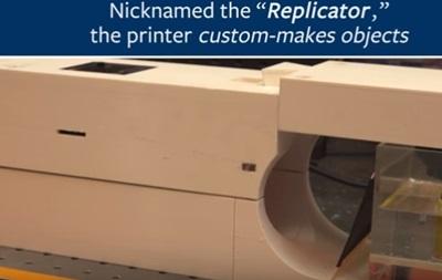 Ученые создали 3D-принтер, печатающий при помощи света