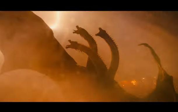 В трейлере Годзиллы 2 показали новых монстров