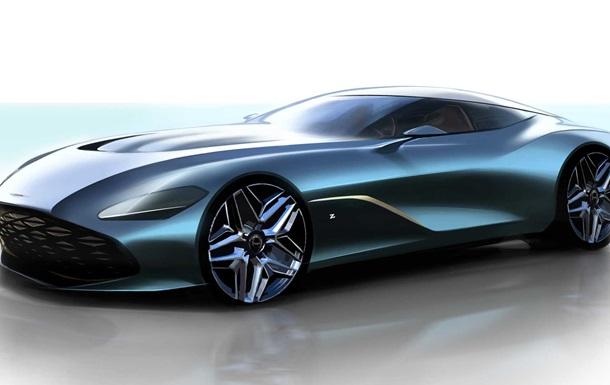 Aston Martin показала тизер нового суперкара