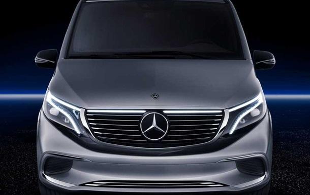 Mercedes представил минивэн с нулевым уровнем выбросов
