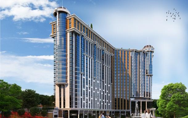Жилой Комплекс «Podil Plaza & Residence» с двухуровневыми пентхаусами с бассейном