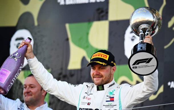 Формула-1: Боттас выиграл в Японии, Феррари в очередной раз провалилась