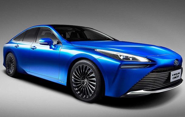 Представлен водородомобиль Toyota Mirai