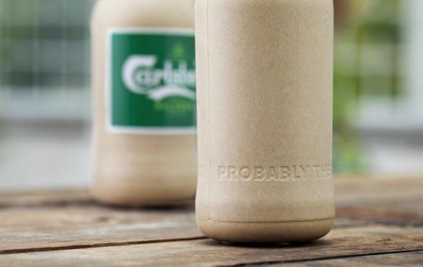 Создана биоразлагаемая пивная бутылка из бумаги