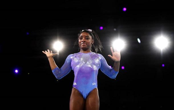 Байлз побила рекорд по количеству медалей на чемпионатах мира