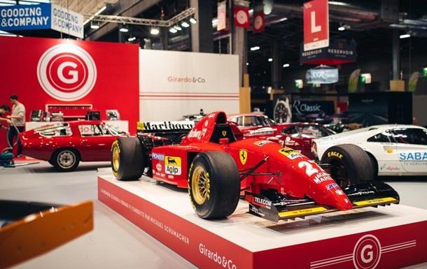 Первый болид Шумахера выставили на аукцион