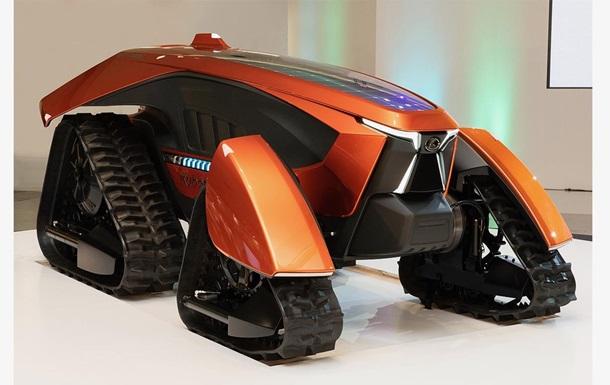 Представлен беспилотный роботрактор будущего